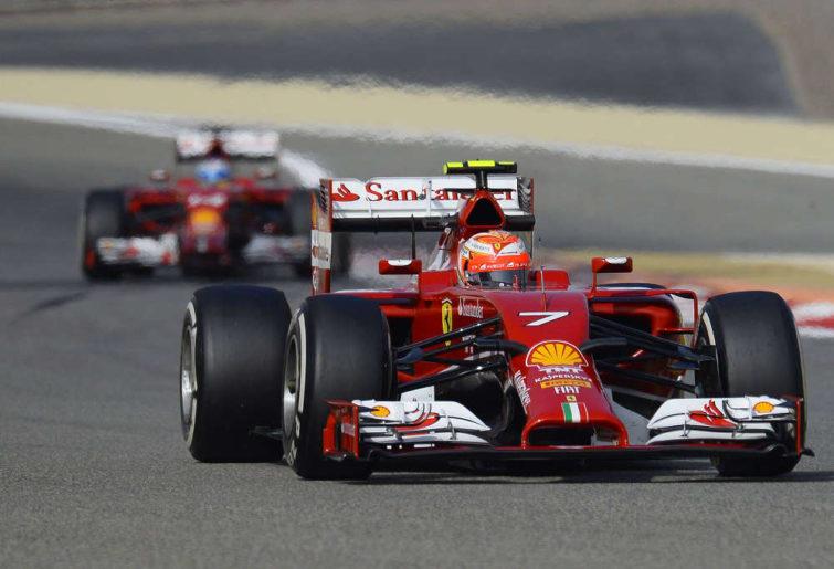 Ferrari's Kimi Raikkonen (Photo: Ferrari Scuderia)