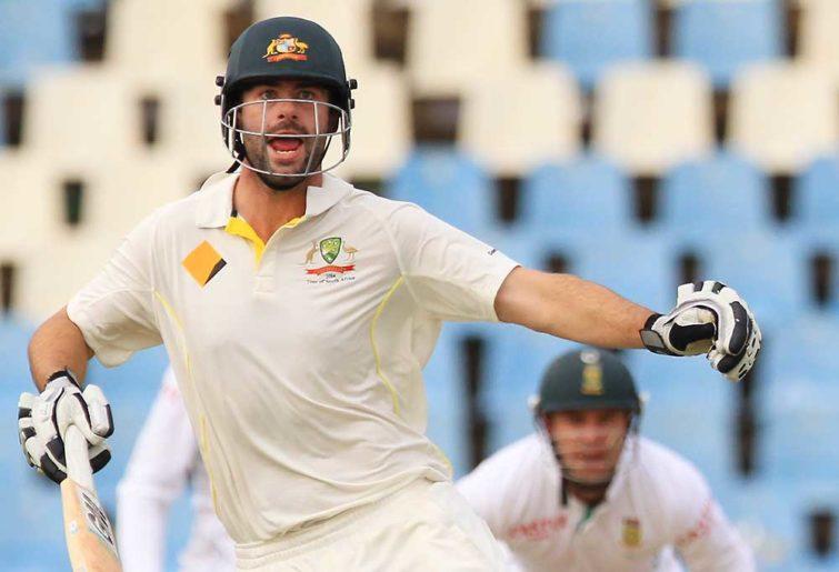 Australia's batsman Alex Doolan