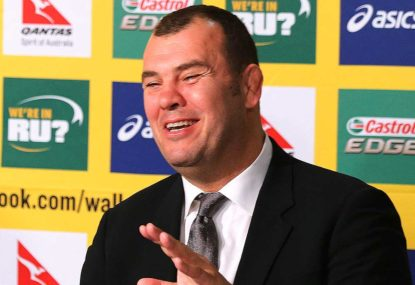 Michael Cheika: A man with a plan