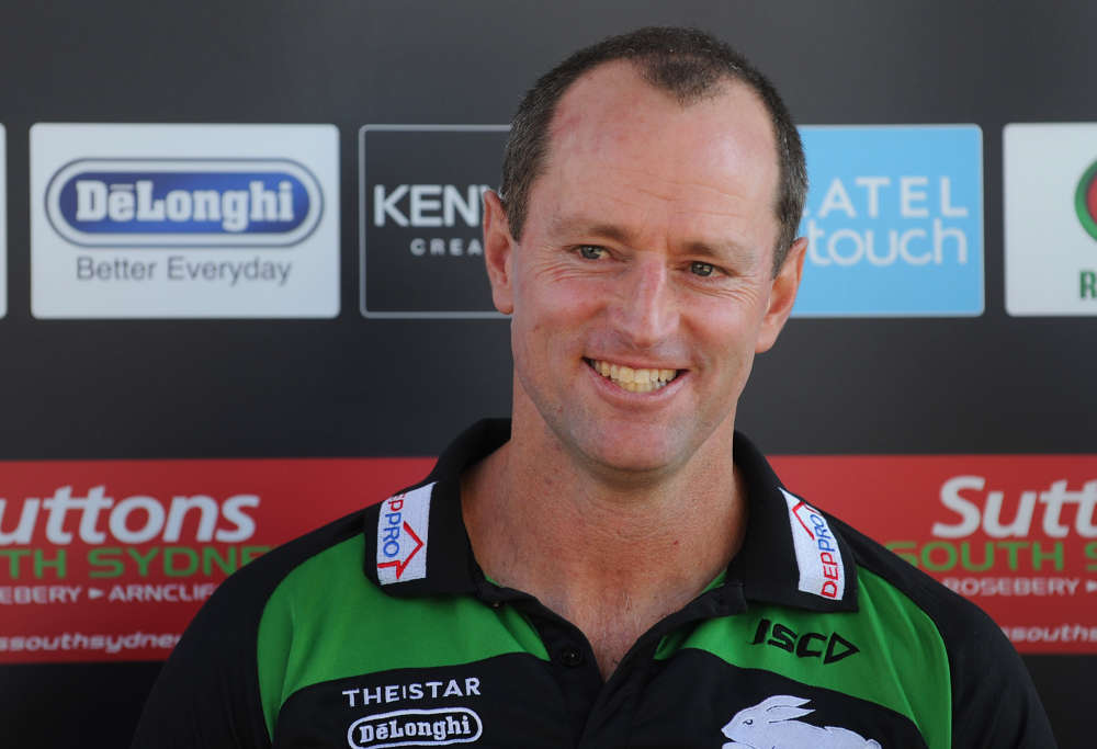 Michael Maguire smiles. What's he up to?