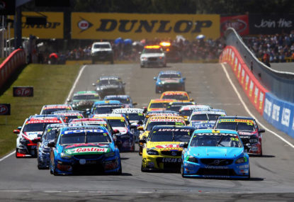 Fewer but more engaged viewers for V8 Supercars on Channel 10