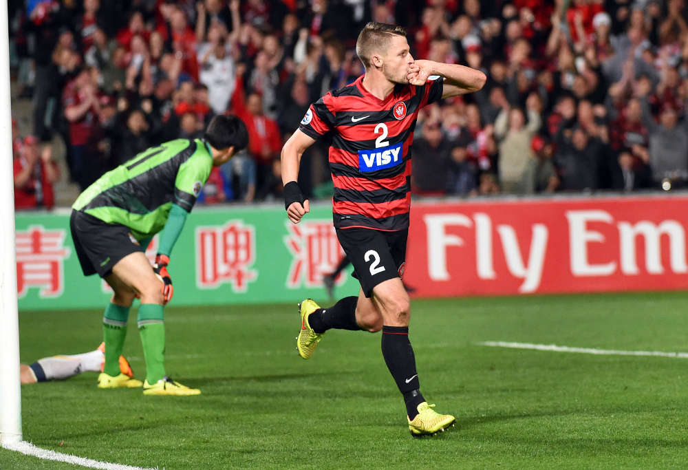 Western Sydney Wanderers player Shannon Cole