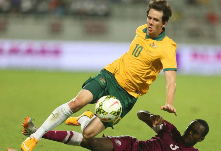 Robbie Kruse for the Socceroos