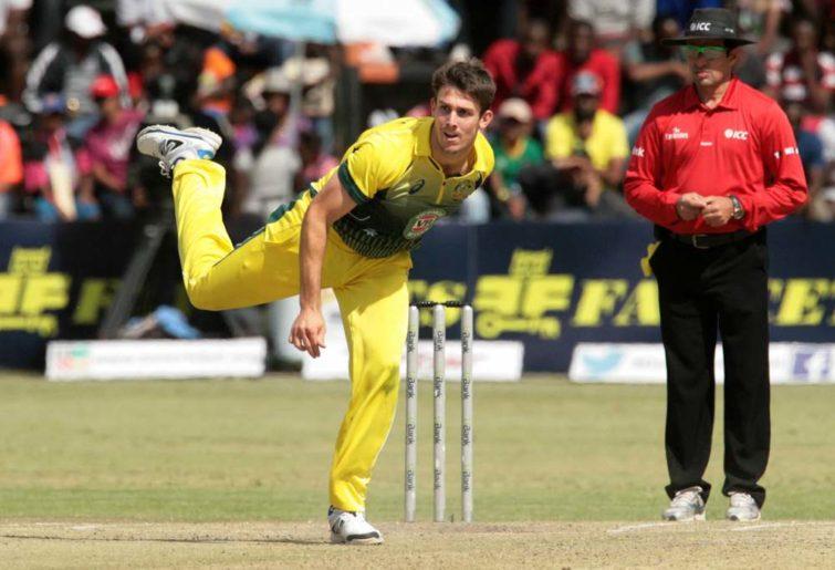 Australian cricketer Mitch Marsh