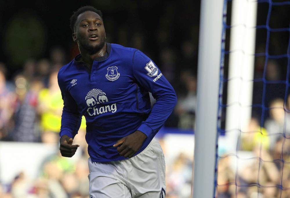 Romelu Lukaku of Everton F.C.