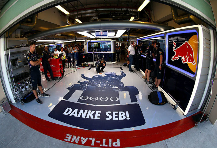 Danke Seb message to Vettel from Red Bull