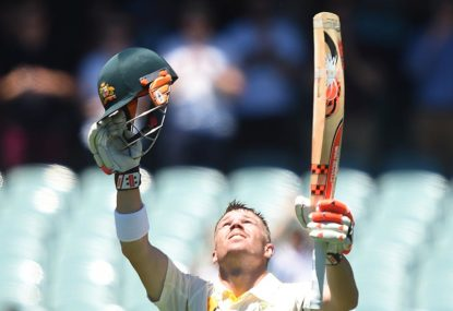 The case of the very 'rungry' David Warner