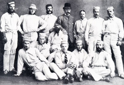 Australia's first Test cricketers - who were they?