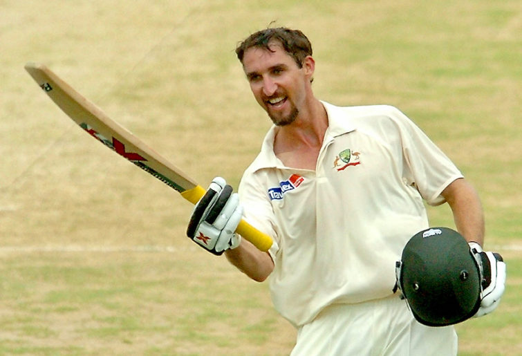 Australian cricketer Jason Gillespie
