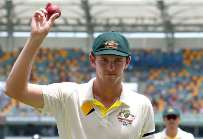 Hazlewood completes Australia's fab four of five-fors