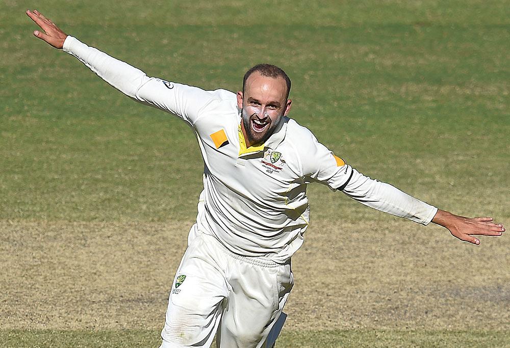 Australian bowler Nathan Lyon