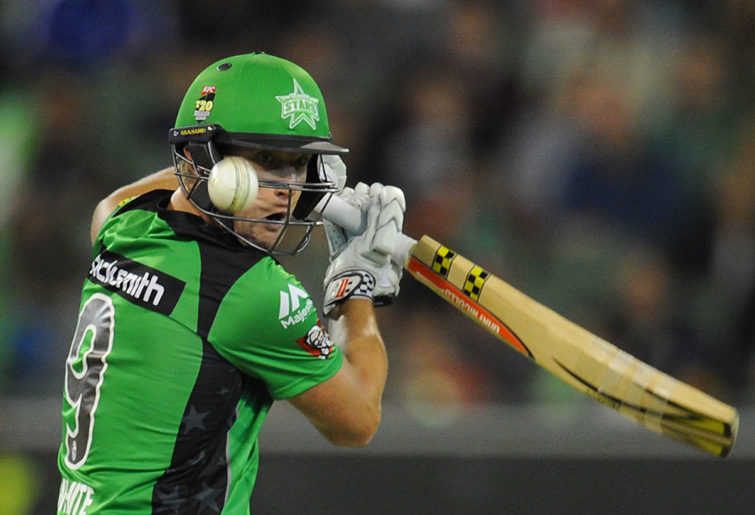 Melbourne Stars batsman Cameron White