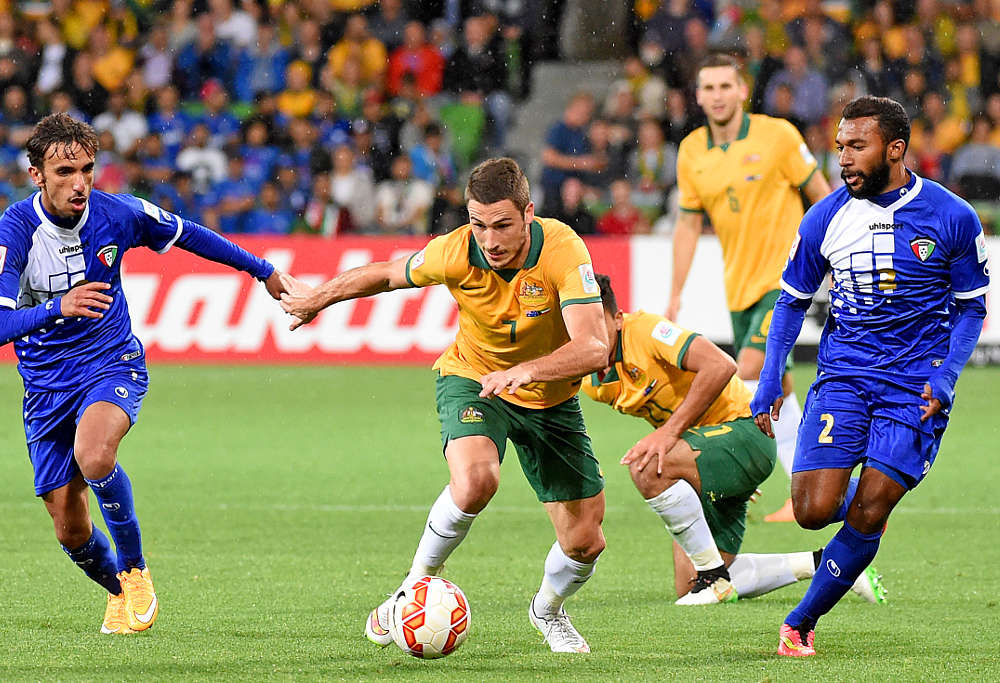 Mathew Leckie of Australia