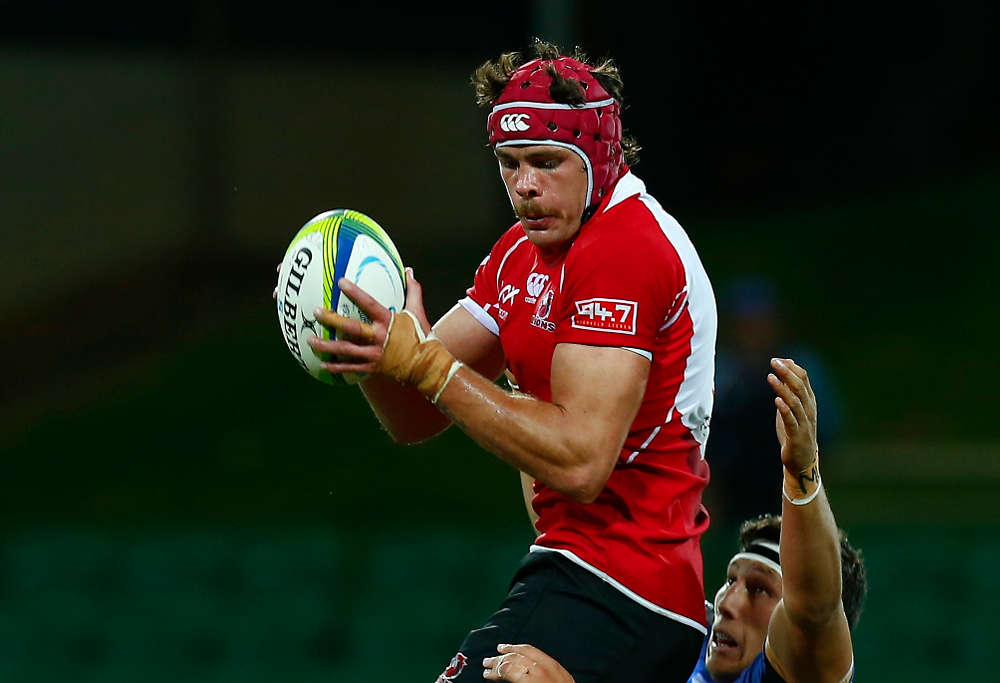 Warren Whiteley in action for the Lions (Photo: AAP)