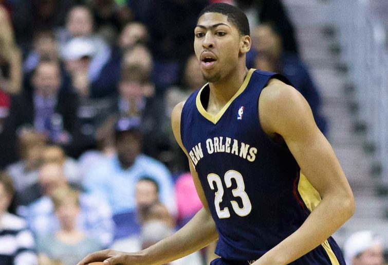 Anthony Davis of the New Orleans Pelicans