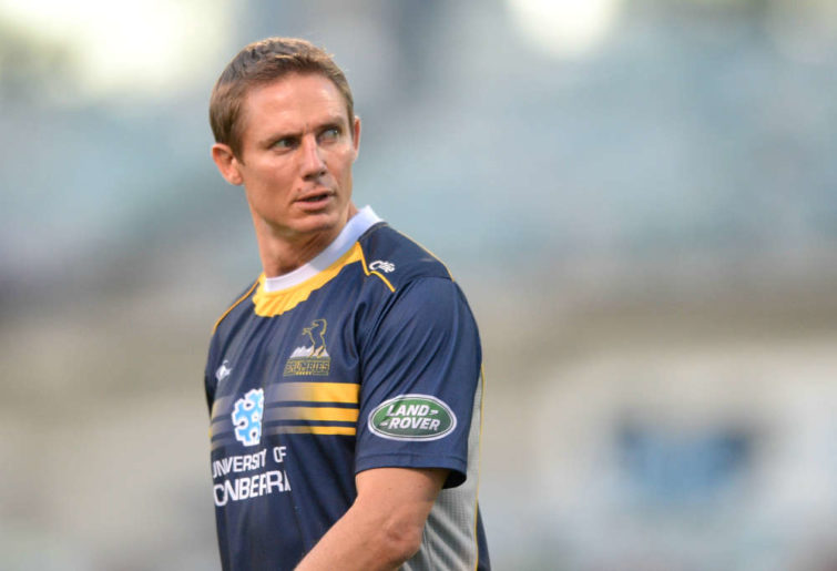 Current Brumbies coach Stephen Larkham