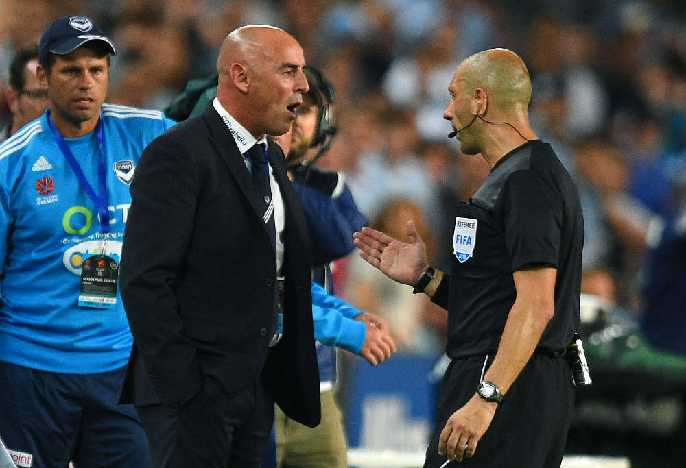 Victory coach Kevin Muscat