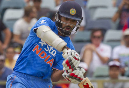 India's bowling not to blame for ODI series loss