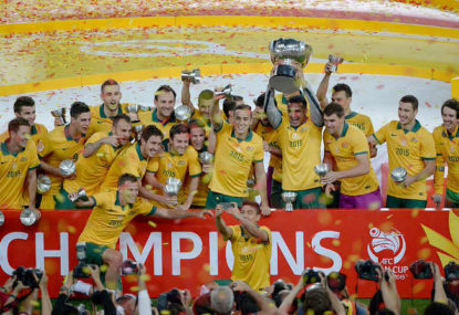 Australia s Asian Cup win  one of the greatest footballing moments this  country has seen. (Photo  AFC Asian Cup) d4f92b487