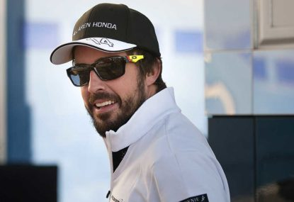 Alonso: When, not if, McLaren will win a race - especially with those first lap skills