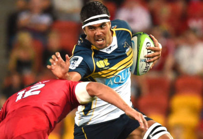 Spotlight shines on the Brumbies' Tongan Tornado