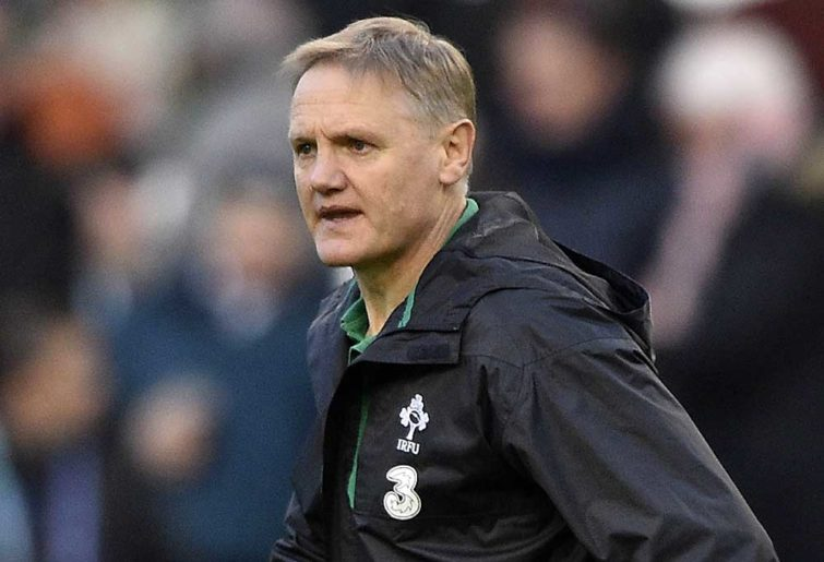 Ireland's New Zealand coach Joe Schmidt