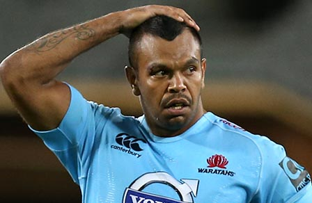 Waratahs Kurtley Beale