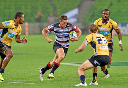 Brumbies and Waratahs under the pump as Rebels begin to rise
