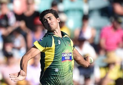 By the numbers, Mitchell Starc is top of the world