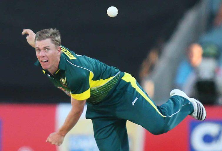 Australia's Xavier Doherty in action