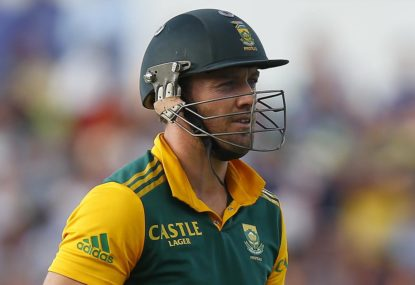 Is AB de Villiers great, or just very good?