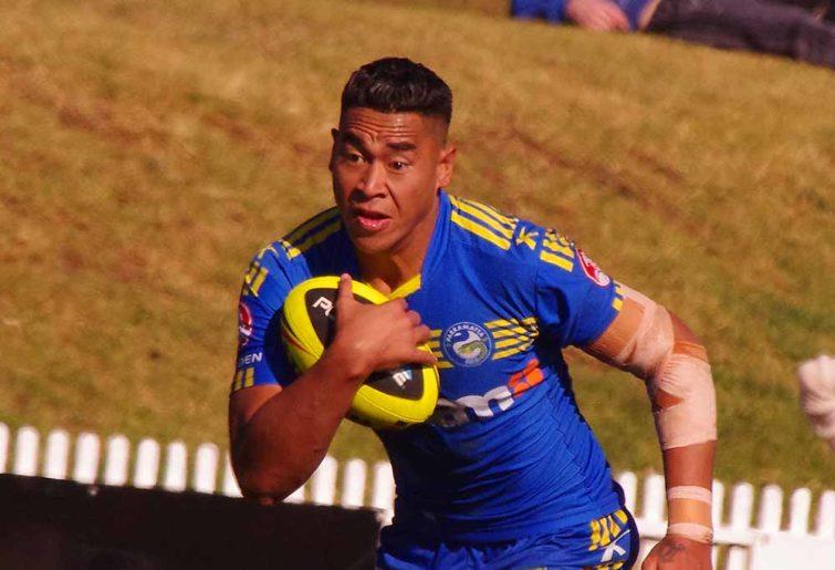 John Folau of the Parramatta Eels
