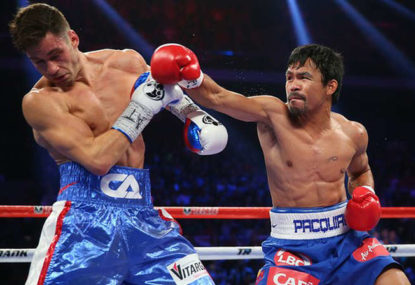 Pacquiao needs to fight boxing's next generation before retiring