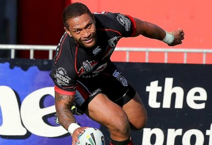 Vatuvei's double hundred a Manumental moment for the Warriors