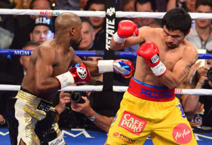 Mayweather vs Pacquiao: My night of the century