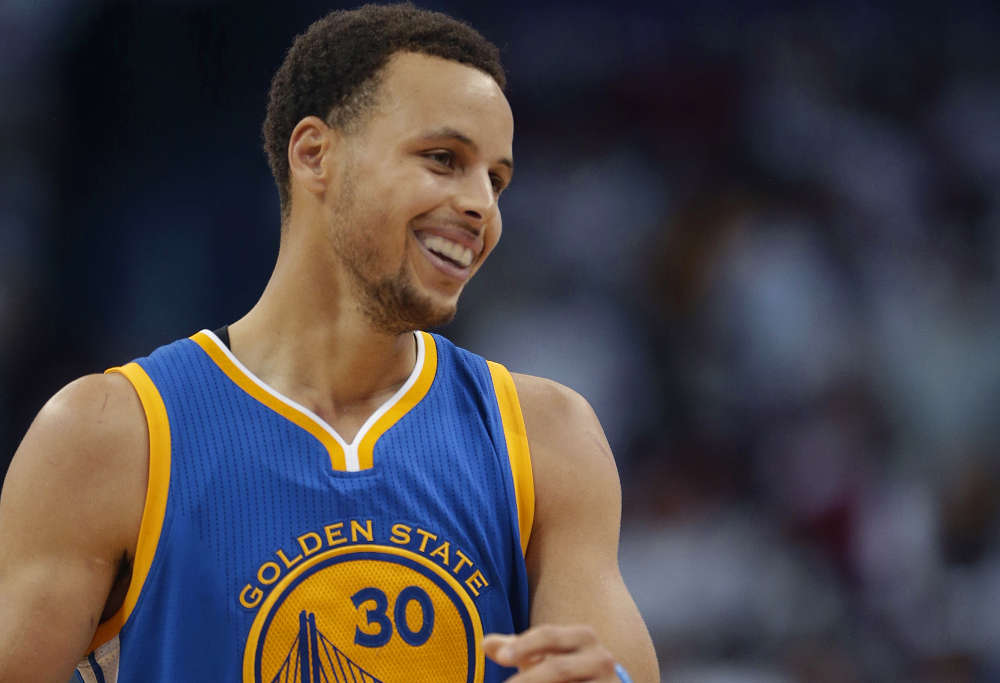 Golden State Warriors' guard Steph Curry (Photo: AP)