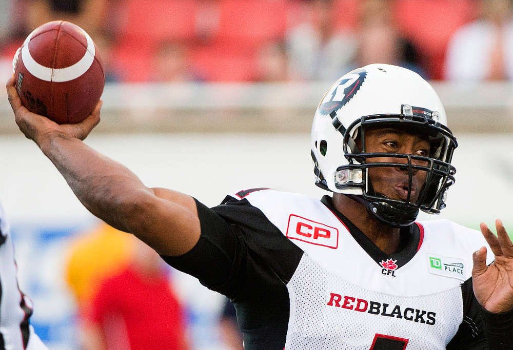 Henry Burris CFL Canada football Canadian Football League American football college football NFL