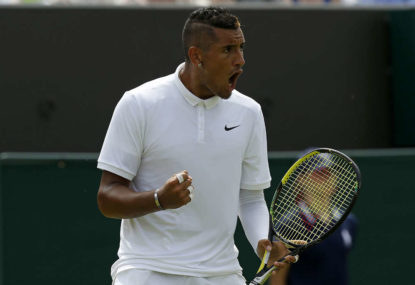 Nick Kyrgios sledges Wawrinka, says Kokkinakis 'banged his girlfriend'