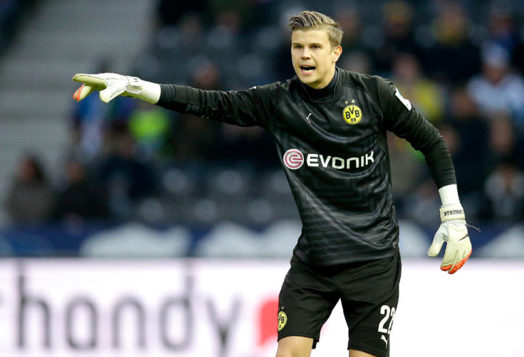 Borussia Dortmund goalkeeper Mitchell Langerak