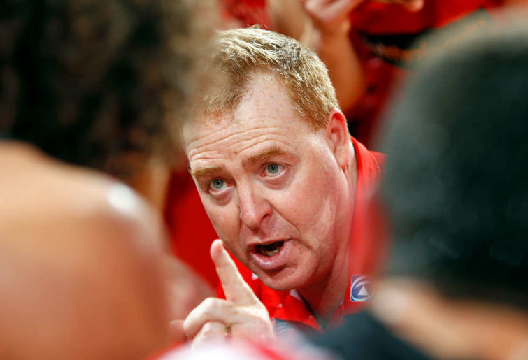 Illawarra Hawks coach Rob Beveridge