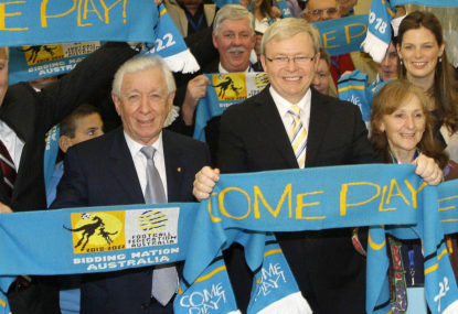 Ten years ago the FFA and K-Rudd shared a dream