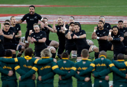 In praise of All Blacks and other musings