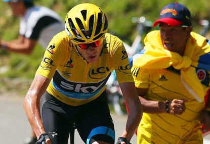 Stick to Aru like glue in Pyrenees: Froome
