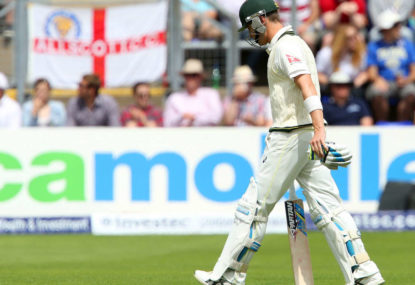 Australia capitulate in a day of English dominance