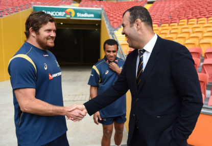 Back to the future as Greg Holmes makes shock return to the Wallaby camp