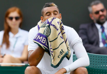 Kyrgios sent packing from Wimbledon