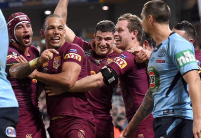 SMITHY: That was the ultimate State of Origin performance