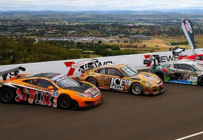 Will a joint Bathurst 12 hour/V8 pre-season test work?