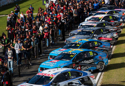 How is the new V8 Supercars television deal tracking?