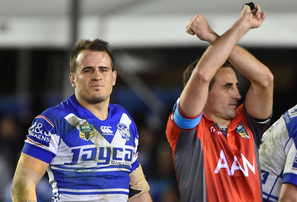 Josh Reynolds is placed on report
